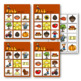 PRESCHOOL: Fall Vocabulary Bingo