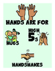 PRESCHOOL GREETING AND BEHAVIOR WALL POSTERS