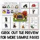 PRESCHOOL: Halloween Speech Language Activity Pack