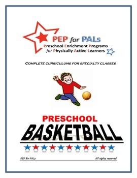 PRESCHOOL LESSON PLAN SPECIALTY ENRICHMENT BASKETBALL SPORTS CLASS