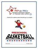 PRESCHOOL LESSON PLAN SPECIALTY ENRICHMENT BASKETBALL SPOR