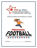 PRESCHOOL LESSON PLAN SPECIALTY ENRICHMENT FOOTBALL SPORTS CLASS