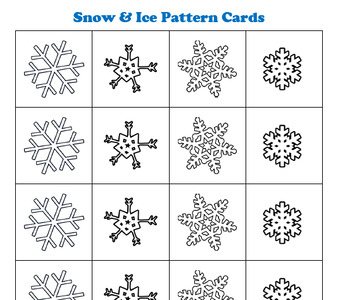 PRESCHOOL LESSON PLAN and ACTIVITIES- Let it Snow Week