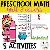 Color Sorting mats, activities and centers - Preschool Math
