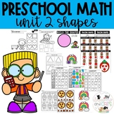 PRESCHOOL MATH ACTIVITIES SHAPES- Distance Learning