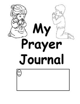 PRESCHOOL PRAYER JOURNAL whole year 4/5 year old