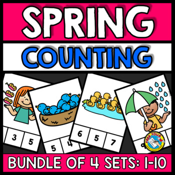 PRESCHOOL SPRING ACTIVITIES (KINDERGARTEN COUNTING CENTERS 1-10)