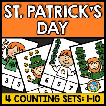 PRESCHOOL ST PATRICKS DAY ACTIVITIES (KINDERGARTEN COUNTING CENTERS 1-10)