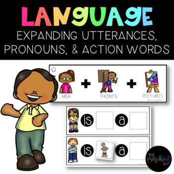 PRESCHOOL: Speech Language Utterance Expansion Picture Sentences