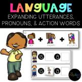 THE PRESCHOOL SLP: Speech Language Utterance Expansion Pic