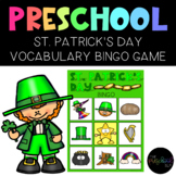 PRESCHOOL: St. Patrick's Day Vocabulary Bingo