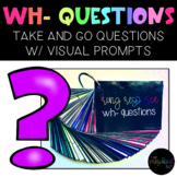 THE PRESCHOOL SLP: WH Questions w/ Visual Prompts Ring Resource