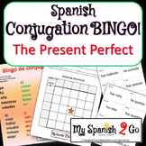 PRESENT PERFECT:  Bingo Game for Conjugating