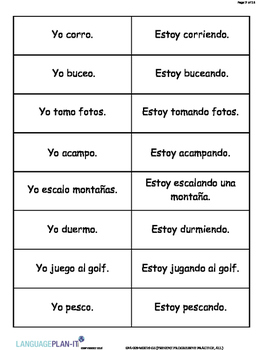 PRESENT PROGRESSIVE PRACTICE, ALL (SPANISH 2016 EDITION)
