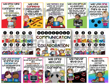 PRESENTATION AND REMINDER POSTERS FOR DIGITAL COMMUNICATION AND COLLABORATION