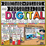 DIGITAL COMMUNICATION AND COLLABORATION PRESENTATION & POSTERS