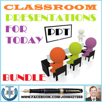 PRESENTATIONS FOR CLASSROOMS OF TODAY: BUNDLE