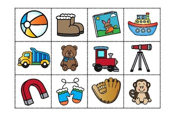 PRESENTS - Beginning Initial Sounds Sort FREE