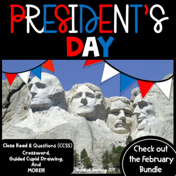 PRESIDENT'S DAY ACTIVITIES!