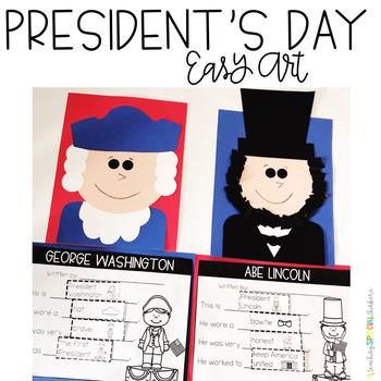 PRESIDENT'S DAY EASY ART
