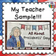 PRESIDENT'S DAY Flip Book!  All About President's Day +  Activity Pages!