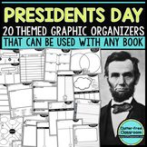 PRESIDENT'S DAY Graphic Organizers for Reading | Reading G