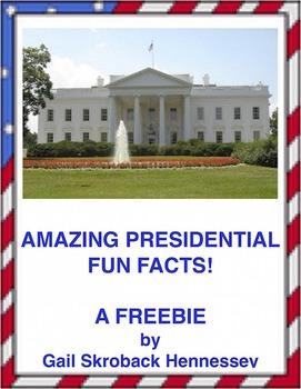 PRESIDENTIAL TRIVIA: FREEBIE(Interactive Notebook Activity)