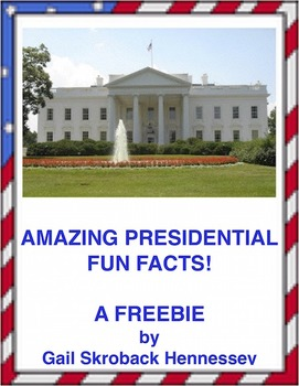 PRESIDENTIAL TRIVIA: FREEBIE(Interactive Notebook Activity)