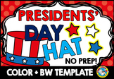 (PATRIOTIC CRAFT HAT TEMPLATE) CONSTITUTION DAY ACTIVITY K