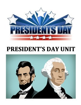 PRESIDENT'S DAY ACTIVITIES (GRADES 3 - 5)