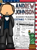 PRESIDENTS DAY: BIOGRAPHY: ANDREW JOHNSON