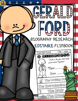 PRESIDENTS DAY: BIOGRAPHY: GERALD FORD