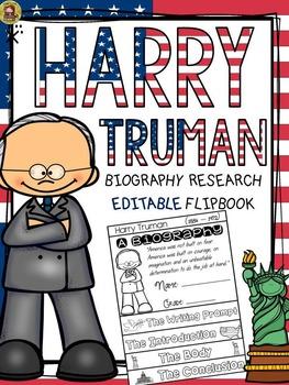 PRESIDENTS DAY: BIOGRAPHY: HARRY TRUMAN