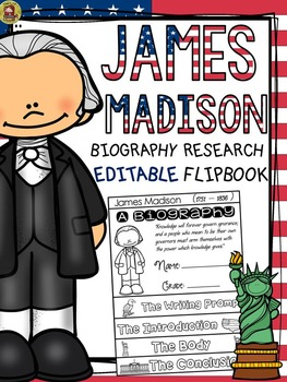 PRESIDENTS DAY: BIOGRAPHY: JAMES MADISON