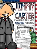 PRESIDENTS DAY: BIOGRAPHY: JIMMY CARTER