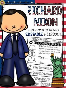 PRESIDENTS DAY: BIOGRAPHY: RICHARD NIXON