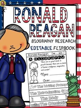 PRESIDENTS DAY: BIOGRAPHY: RONALD REAGAN