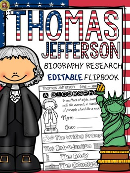 PRESIDENTS DAY: BIOGRAPHY: THOMAS JEFFERSON