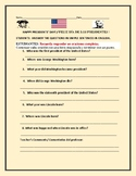 PRESIDENTS' DAY: ESOL ACTIVITY/ SPANISH: SIMPLE SENTENCES