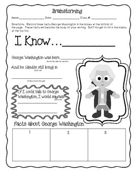 CCSS PRESIDENTS DAY RESEARCH AND WRITING PACK