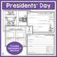 PRESIDENTS DAY - Social Studies and Writing Mini Unit