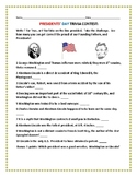PRESIDENTS' DAY TRIVIA CONTEST: Fun for staff and students!
