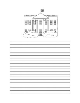 PRESIDENT'S DAY WRITING PAPER PACK
