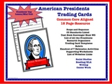 PRESIDENTS Lesson Plans - Create Presidents Trading Cards