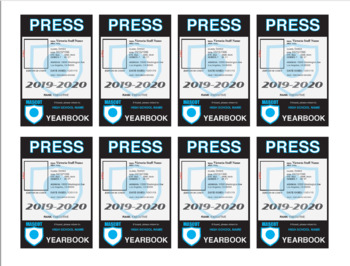 Press Pass Template