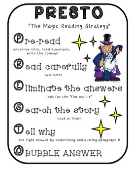 PRESTO Reading Strategy Handout
