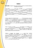 SPANISH: PRETERITE (6 PARAGRAPHS) - CONJUGATE THE VERBS IN