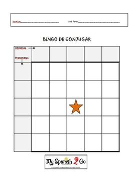 PRETERITE REGULAR NEW!  Bingo Game