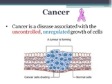 PREVIEW - Cancer - What it is, cause, screening, diagnosti