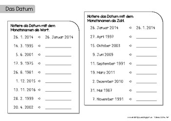Kalender (Ergänzungsmaterial)